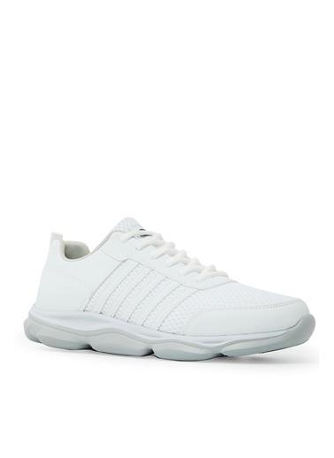 Slazenger Slazenger TORRES Koşu & Yürüyüş Erkek Ayakkabı K. Beyaz